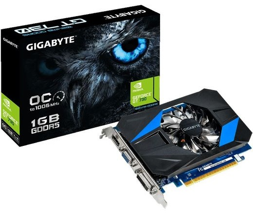 VGA GIGABYTE PCIE GT730 OC 1GB GDDR5