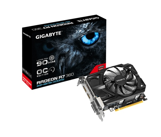 VGA GIGABYTE R7 360 2GB OC