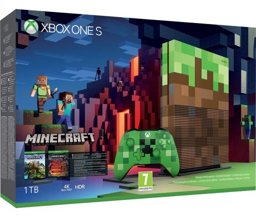 XBOX ONE Xbox One S 1TB + LE Minecraft