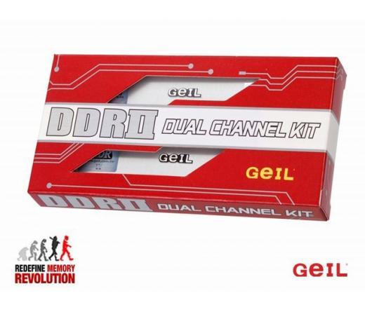 DDR2 2GB 800MHz GeIL Value CL5 KIT2