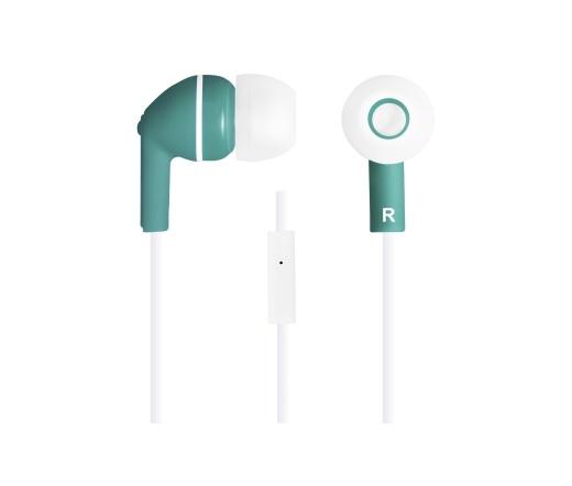 CANYON CNS-CEP03G mikrofonos fülhallgató zöld