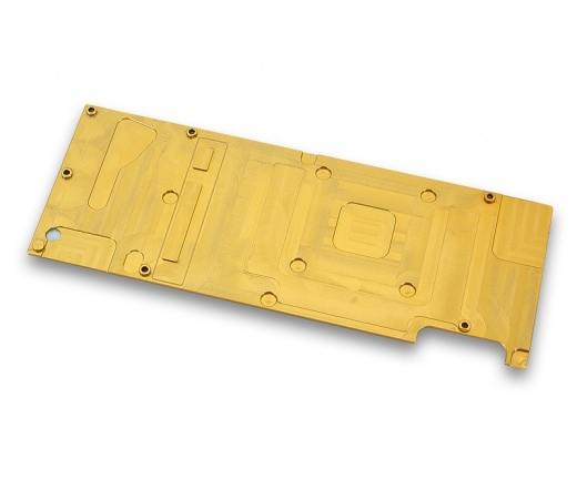 EK Water Blocks EK-FC Titan X Backplate - Gold