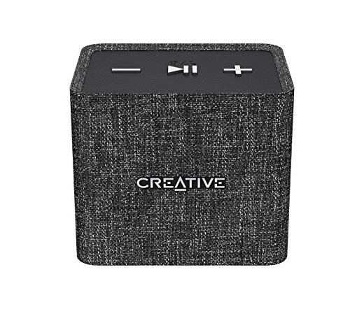 Creative Nuno Micro Black Portable Bluetooth Speaker