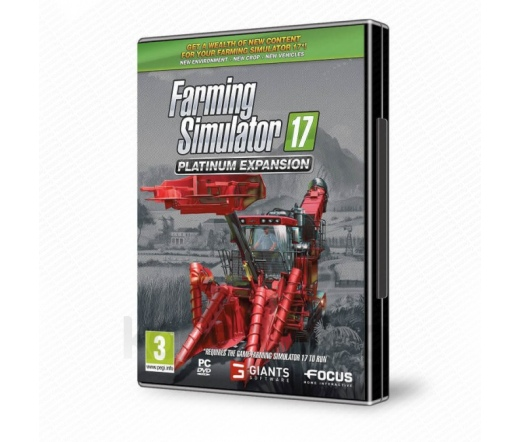 PC Farming Simulator 17 Platinum Expansion