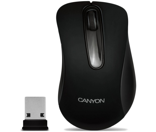 CANYON MOUSE CNE-CMSW2 Fekete