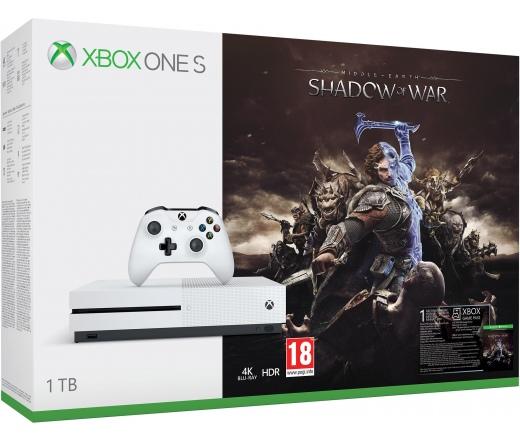 XBOX ONE Xbox One S 1TB + Shadow of War