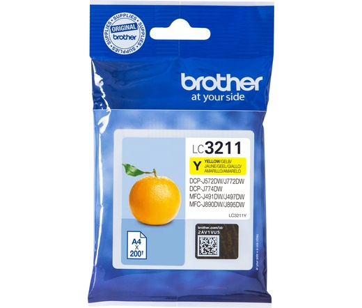 Patron Brother LC3211Y Yellow
