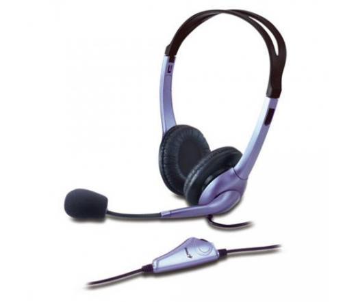 GENIUS Headphone HS-04S Fülhall+mic+noise cancel