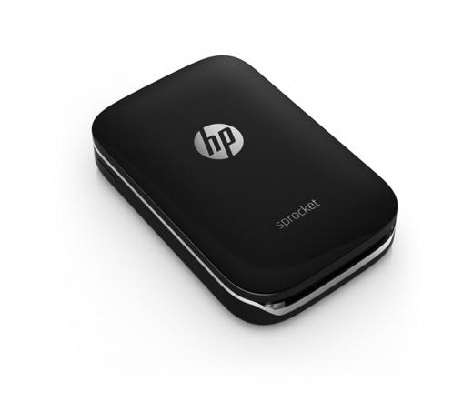 HP Sprocket fekete