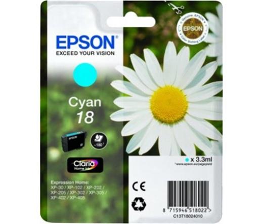 Patron Epson T1802 Cyan Claria