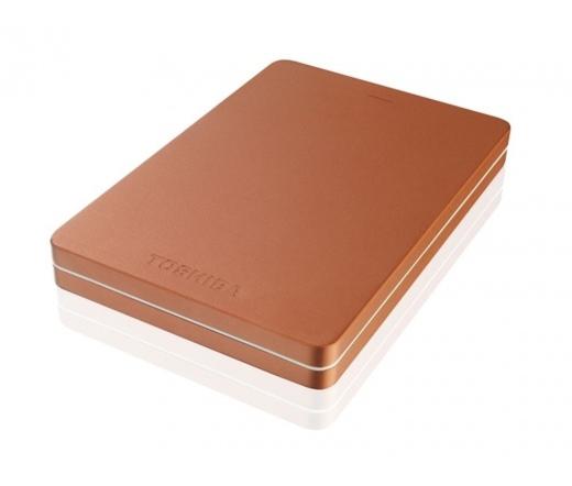 """HDD TOSHIBA Canvio Alu 3S 2,5"""" 500GB USB3.0 Vörös"""