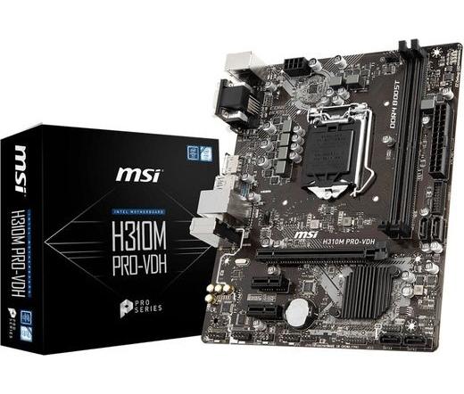 MBO MSI H310M Pro-VDH