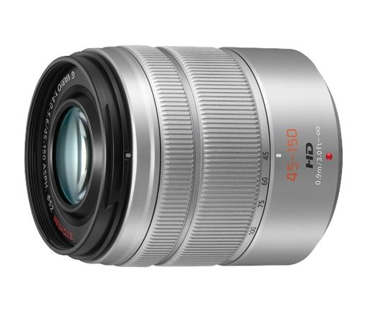 PANASONIC Lumix G VARIO 45-150mm f4.0-5.6  H-FS45150E-S