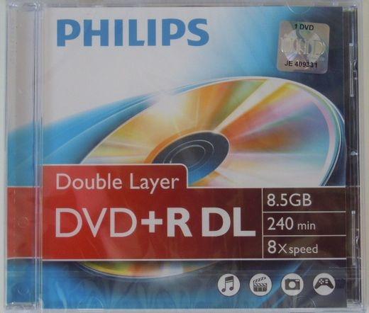 Philips DVD+R85 Dual-Layer 8x