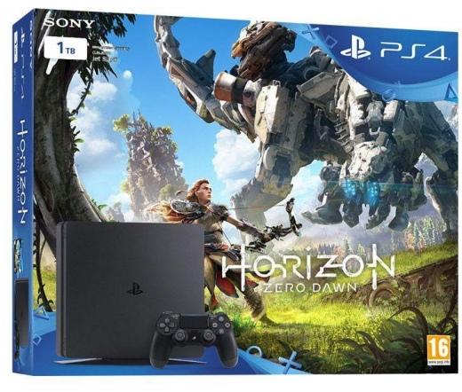 SONY PlayStation 4 Slim 4 1TB + Horizon Zero Dawn
