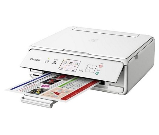 Printer Canon Pixma TS5051 tintasugaras MFP (fehér, WiFi)