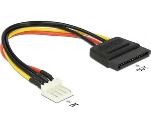 Delock Tápkábel SATA - 4 Pin Floppy 83918