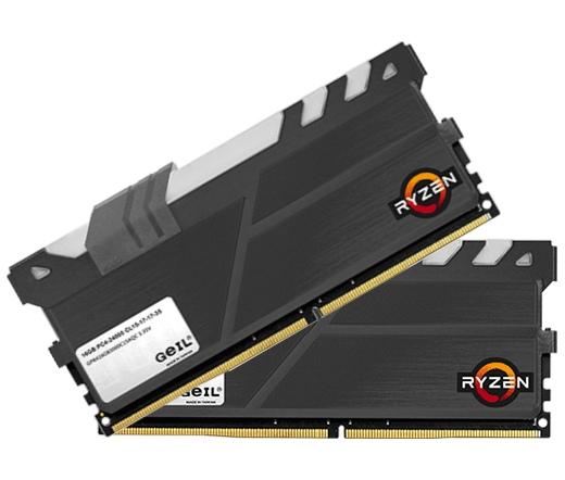 DDR4 16GB 2400MHz GeIL EVO X Black AMD Edition CL1...