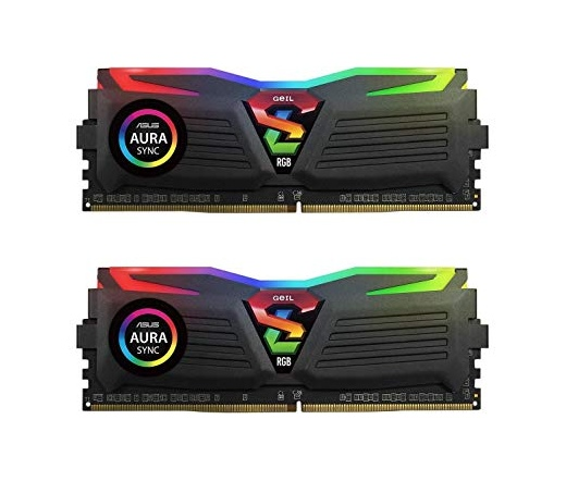 DDR4 8GB 2666MHz GeIL Super Luce AMD Edition RGB Sync CL16 KIT2