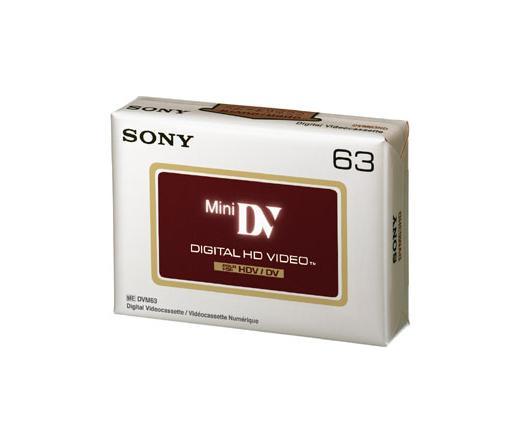 SONY DVM63HDV kazetta