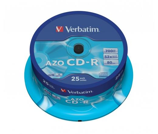 VERBATIM CD-R 700MB 52X AZO CRYSTAL CAKE*25 43352