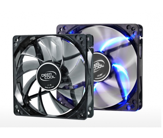 COOLER DeepCool WIND BLADE 120 12cm kék LED