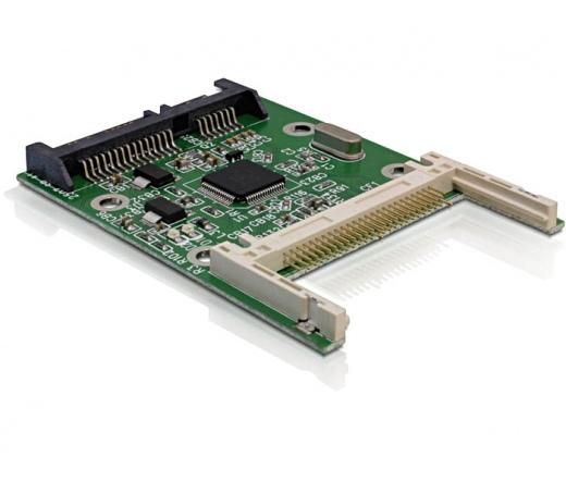 CARD READER DELOCK SATA - Compact Flash keret (91660)