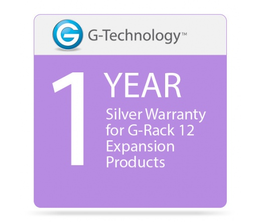 G-Technology G-Rack Expansion 1yr Silver