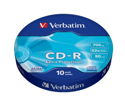 VERBATIM CD-R 700MB 52X EXTRA PROT. SPx10