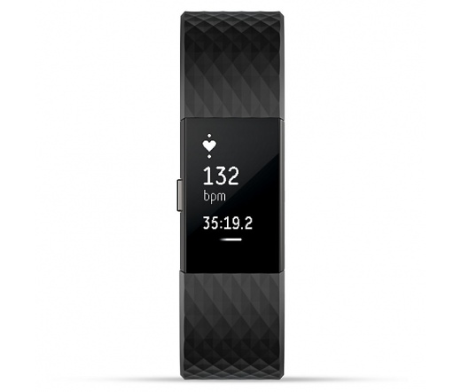 Fitbit Charge 2 Gunmetal Small