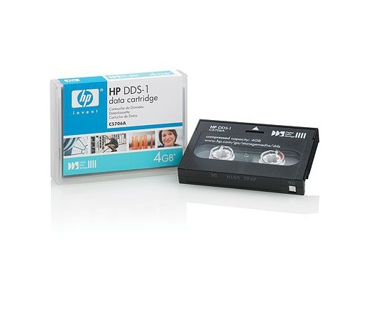 HP ADATKAZETTA DDS 1/ 4GB/ 90m (C5706A)