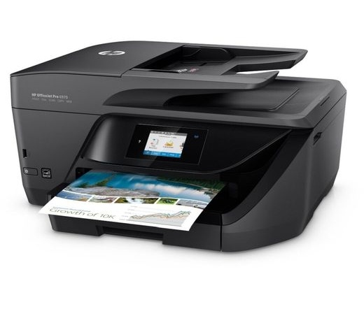 HP Tintasugaras MFP NY/M/S/F Officejet Pro 6970 e-AiO, USB/Háló/WLAN A4 20lap/perc FF(ISO), 600x1200 dpi, Síkágyas, DADF