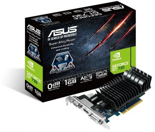 VGA ASUS GT730-SL-1GD3-BRK Silent 1GB DDR3