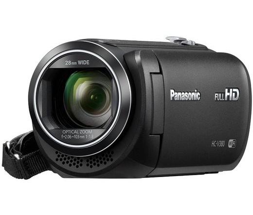 PANASONIC HC-V380EP-K FullHD videókamera fekete