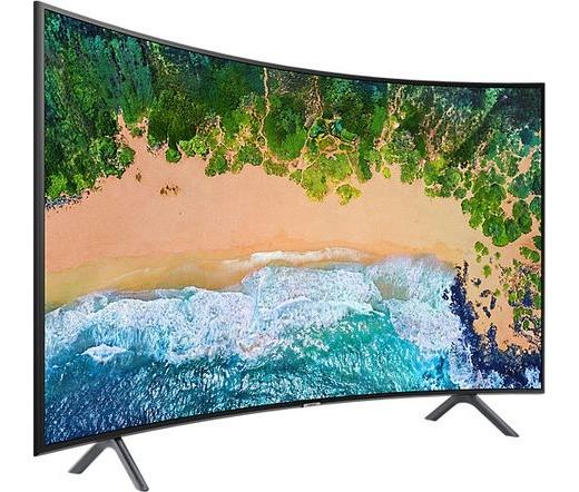 """Samsung UE55NU7302KXXH 55"""" ívelt LED smart TV"""