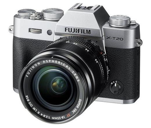 FUJIFILM X-T20 XF18-55mm f/2.8-4 R Szürke Kit