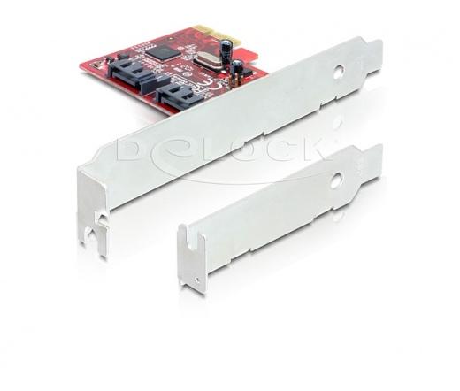 I/O DELOCK PCI-E -> 2x SATA 6Gb/s (89270)