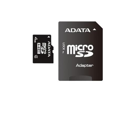 Card MICRO SDHCHC Adata 4GB CL4