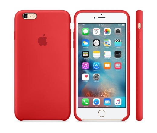 Apple iPhone 6s Silicone Case (PRODUCT)RED