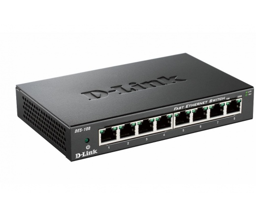 NET D-LINK DES-108 8x100Mbps Switch