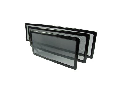 DEMCIFLEX Porszűrő 280mm radiátorhoz - fekete/fekete