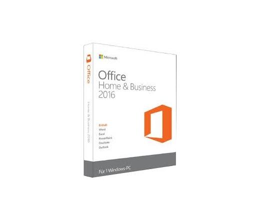 SW MS Office 2016 MAC Home & Business ML HUN 1 user
