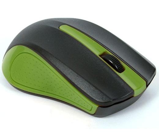 OMEGA MOUSE OM05G 3D USB 1000dpi GREEN