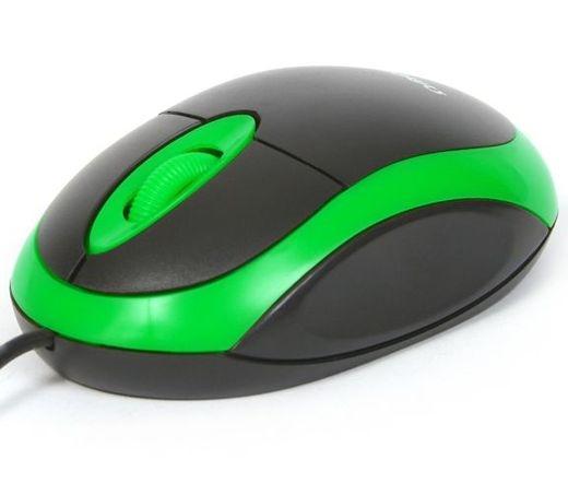 OMEGA MOUSE OM06VG USB 800dpi Fekete/Zöld