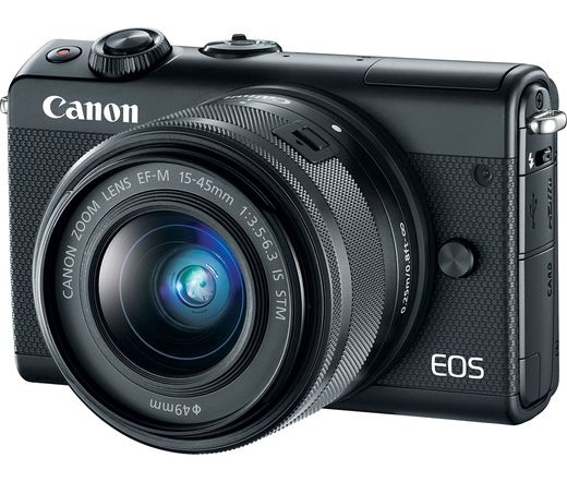 CANON EOS M100 + 15-45mm Kit fekete