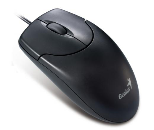 GENIUS MOUSE NetScroll 120 optical PS2 800dpi BLACK