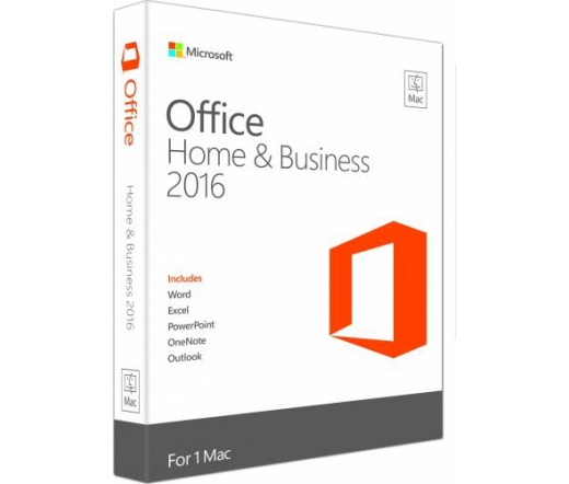 SW MS Office 2016 MAC Home & Business ML ENG 1 user