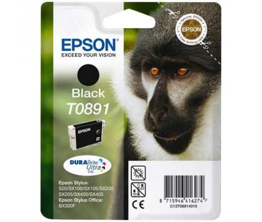 Patron Epson T0891 Fekete 5,8 ml (C13T08914010)