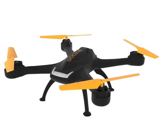 GoClever Drone HD 2 FPV - mobilról irányítható HD kamerás belső nézetű drón