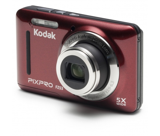 Kodak PixPro FZ53 red/vörös digitális fényképezőgép